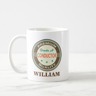 Conductor Personalized Office Mug Gift