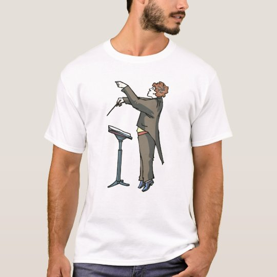 Conductor side view with stand T-Shirt