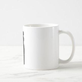 Conductor Silhouette Basic White Mug