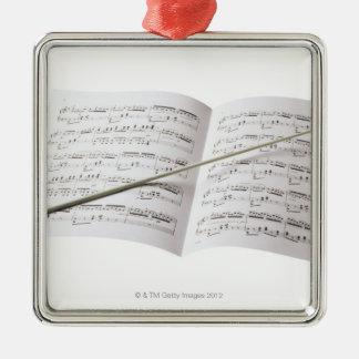 Conductor's Baton Christmas Ornament