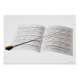 Conductor's Baton Poster