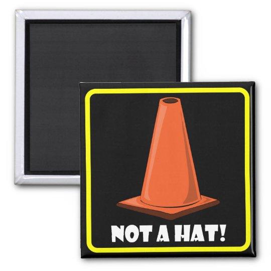 CONE HAT 1a Square Magnet