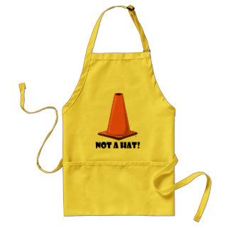 CONE HAT 2t Adult Apron