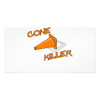 Cone Killer Custom Photo Card