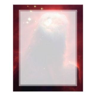 Cone Nebula (Hubble Telescope) Flyer Design