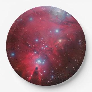 Cone Nebula Paper Plate