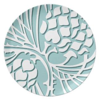Cone of Elegance - sea Plate