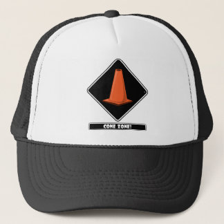 CONE ZONE bk Trucker Hat