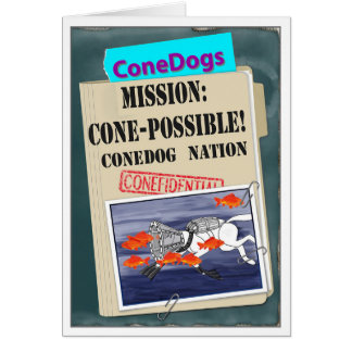 ConeDogs - Mission: Cone-Possible Card