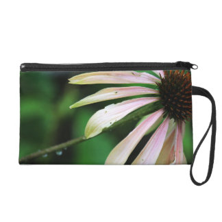 Coneflower And Bumble Bee Wristlet Clutches