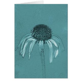 Coneflower Sketch Card