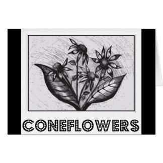 Coneflowers Card
