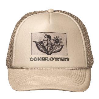 Coneflowers Mesh Hats