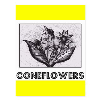 Coneflowers Postcard