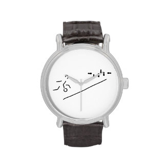 cones skittle-alley bowling wristwatch
