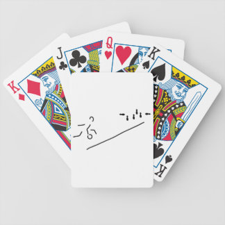 cones skittle-alley bowling poker cards