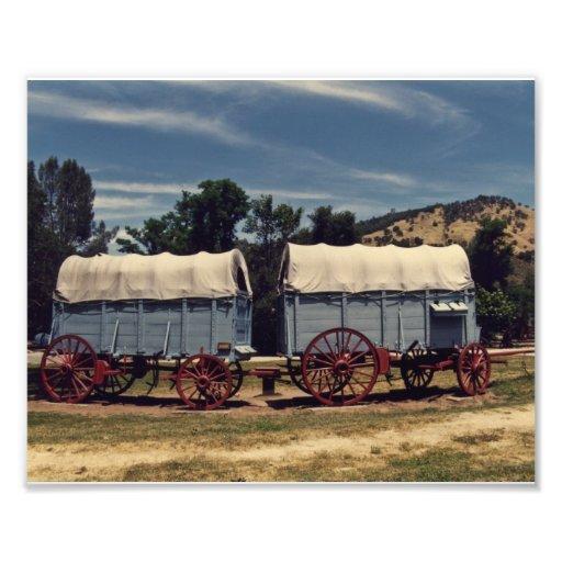 Conestoga Wagons Art Photo