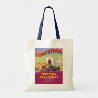 Conestoga Western Vegetables Budget Tote Bag