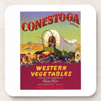 Conestoga Western Vegetables Coaster