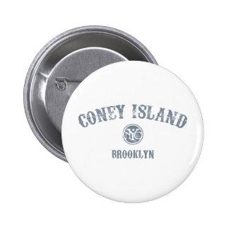 Coney Island 6 Cm Round Badge