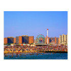 Coney Island beach - NYC postcard