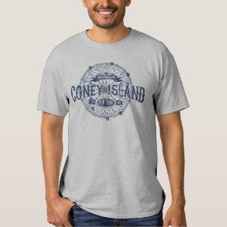 Coney Island Brooklyn New York Retro America Shirts
