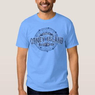 Coney Island Brooklyn New York Retro America Tshirts
