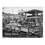 Coney Island Cake Walk Postcard Vintage Picture