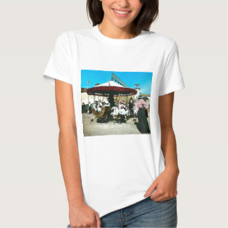Coney Island Carousel 1890s Magic Lantern Slide Shirts