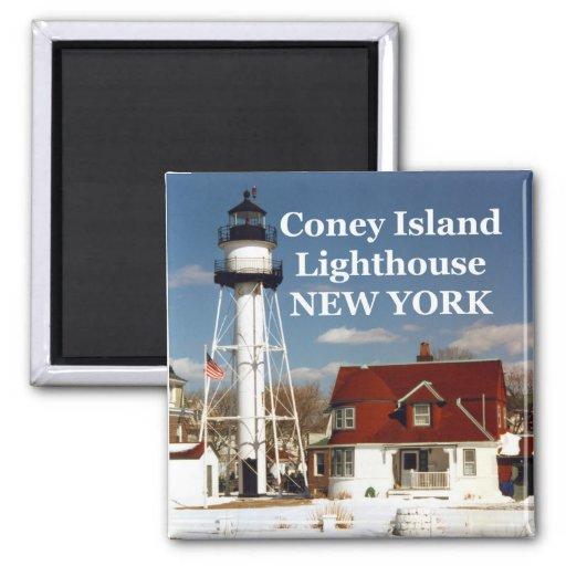 Coney Island Lighthouse, New York Magnet