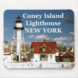 Coney Island Lighthouse, New York Mousepad