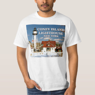 Coney Island Lighthouse, New York T-Shirt