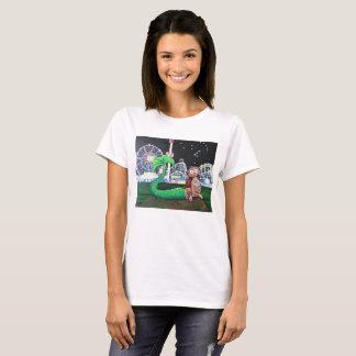 Coney Island Mermaid Ladies' Cut T-Shirt