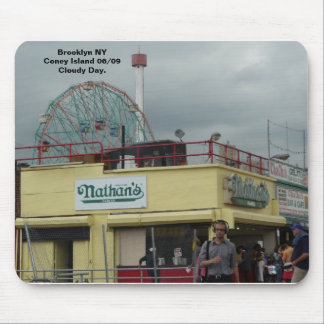 Coney Island NY by Nathan's Mouse Mat