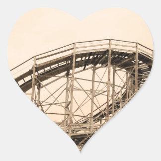 Coney Island Roller Coaster Stickers