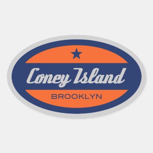 Coney Island Stickers