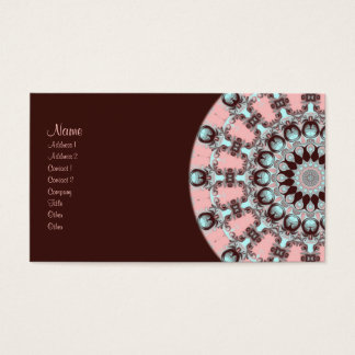 Confection Kaleidoscope Business Card