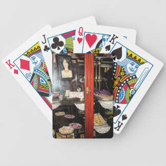 """""""Confectionery Display Cabinet"""".* Bicycle Playing Cards"""
