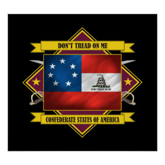 Confederate 1st National -Don t Tread On Me Posters