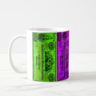Confederate colors mug