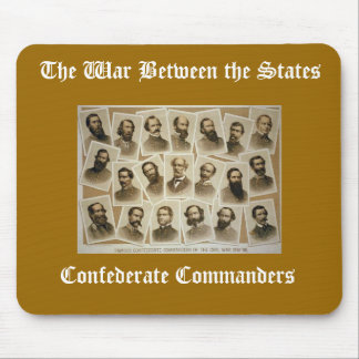 Confederate Commanders Mouse Pad