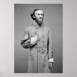 Confederate Gen. J.D. Marmaduke, 1860s Poster