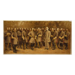 Confederate General Robert E. Lee and his Generals Posters