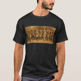 Confederate General Robert E. Lee and his Generals T-Shirt