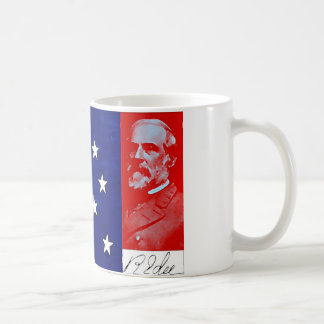 Confederate General Robert E. Lee Basic White Mug