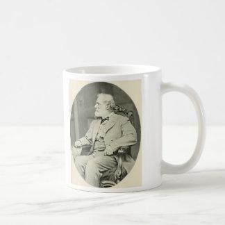 Confederate General Robert E. Lee Sitting in Chair Basic White Mug
