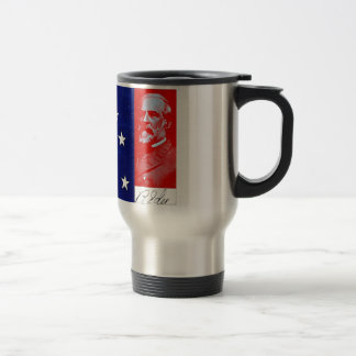 Confederate General Robert E. Lee Stainless Steel Travel Mug