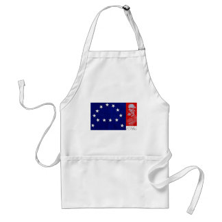 Confederate General Robert E. Lee Standard Apron