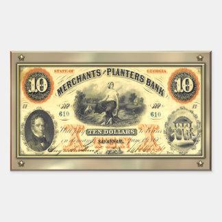 Confederate Money Sticker
