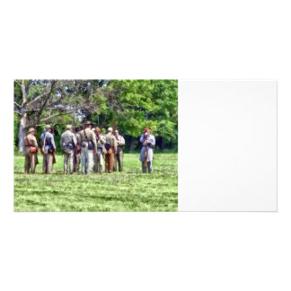 Confederate Muster Photo Card